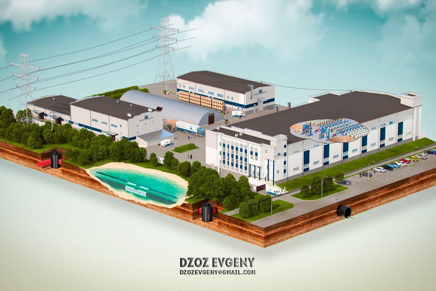 3D Визуализация планов строительства, застройки 13 999 руб. 10 дней.