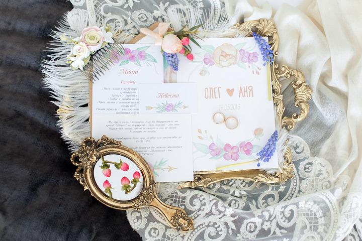 Экспресс-разработка свадебных приглашений - 1196744