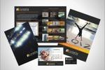 буклет, календари, визитка для строительной фирмы
