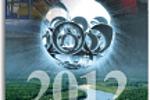 Перекидной календарь Производственный А2 Газпром-Югорск 2012