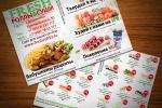 Флаер Fresh роллы&суши