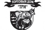 Логотип для Торгового Дома «Три»