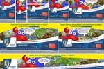 Верстка рекламных постеров Линекс под разные размеры.