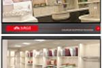 Дизайн магазина постельного белья