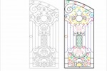 Кованные ворота с деталировкой