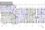 План 2го этажа жилого комплекса