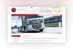 Дизайн для сайта транспортной компании