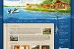Дизайн сайта загородного клуба