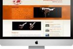 Сайт школы Abada-Capoeira (CMS Joomla)