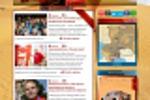 """Дизайн сайта для портала о ралли """"Silk Way"""""""
