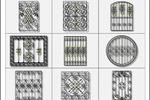Дизайн кованных решеток
