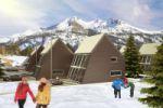 Проект лыжных домиков в Германии