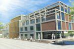 Проект студенческого общежития в Германии