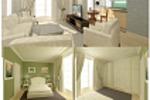 Проект квартиры-студии для строящегося жилого комплекса в Сочи