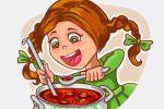 Девочка, которая любит борщ