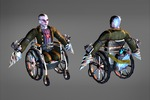 Инвалид - персонаж и анимация для игры Szone Online