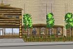 Оформление фасада магазина (Русский-народный)