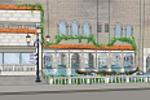 Оформление фасада магазина (Венеция)