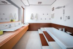 Дизайн и 3D визуализация санузла загородного дома