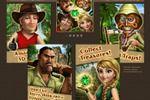 скрины казуальной игры Искатели сокровищ