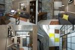 Дизайн и визуализация жилого помещения в стиле Лофт