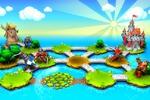 Загрузочынй экран, локации и персонажи для игры Hexland Tales