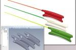 CAD модели линейки ручек удочек зимних(2014г.)