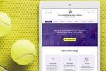 Сайт-визитка Фонда развития детского тенниса