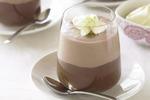 Шоколадный десерт с абрикосом