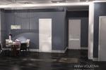 Дизайн коридора-гостиной 2
