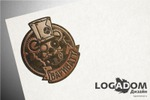 Логотип для печати и веб в стиле стимпанк