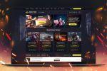 Сайт игровой портал