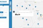 Геолокационная социальная сеть