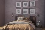 Визуализация спальни стиль лофт