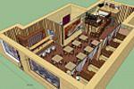 sketchup_кофейня