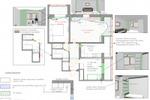 План потолков и ГКЛ конструкций