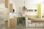 Квартира-студия 18 квадратных метров