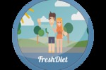 Персонажная анимация, Fresh Diet
