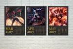 "Календарь ""League of Legends"""