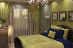 Спальня зеленая