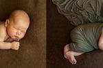 Обработка фото новорожденных.