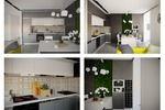 Дизайн проект двухкомнатной квартиры в современном стиле, г.Киев