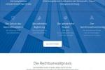 Локализация сайта Московской коллегии адвокатов (нем)