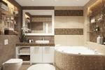 Дизайн и визуализация совмещенного санузла в квартире