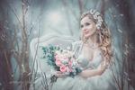Невеста (художественная обработка, коллаж)