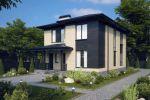 Проект дома в современном стиле