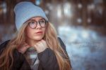 Ретушь и цветкор зимней фотографии