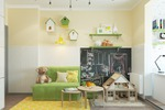 Дизайн детской комнаты для девочки.
