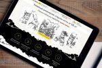 Сайт каталог авторских открыток «Shraddha Art», 2016