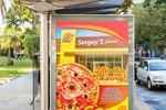 """Рекламный плакат для пиццерии """"Sergey's"""""""